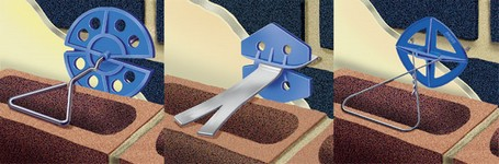 Wall-Tie Insulation Clips